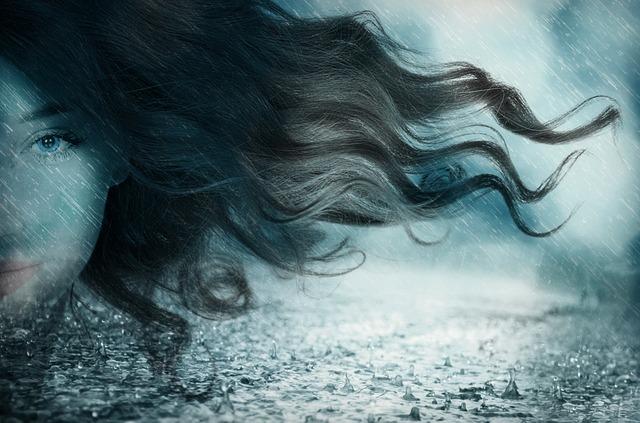 Vielleicht eine Friederike mit Sturm-Frisur
